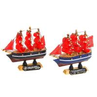 Подарки для Выпускников - Корабль сувенирный малый «Трёхмачтовый»