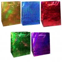 ПОДАРОЧНЫЕ Пакеты - Подарочный пакет - Голография (микс) - 18*23*10