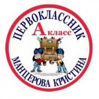 Макеты значков на заказ - Первокласснику на заказ (111)