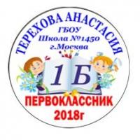 Макеты значков на заказ - Первокласснику на заказ (118)
